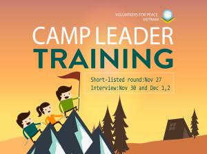 Camp leader training