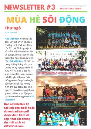ICYE Vietnam - Newsletter #3