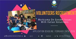 Local Volunteers Recruitment